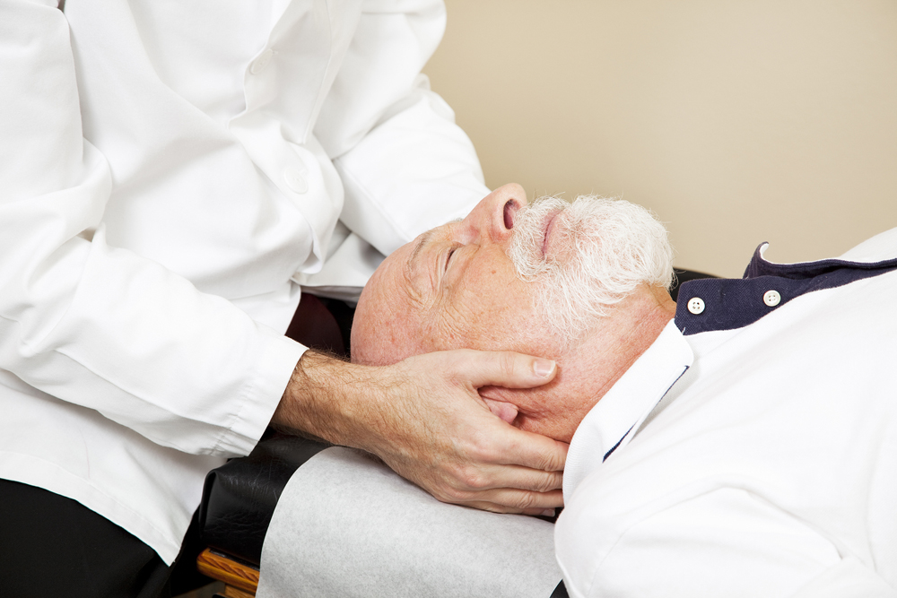Chiropractor in NUCCA Therapy